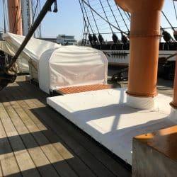 HMS Warrior Traditional Canvas Work_3