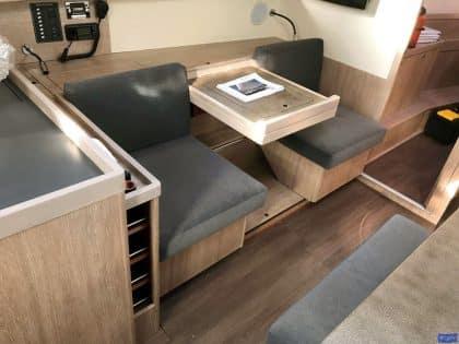 Beneteau Oceanis 45, Internal Saloon Reupholstery_1