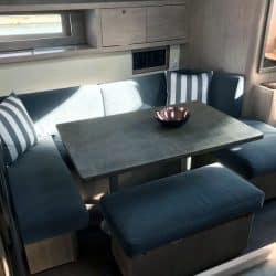 Beneteau Oceanis 45, Internal Saloon Reupholstery_3