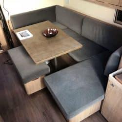 Beneteau Oceanis 45, Internal Saloon Reupholstery_4