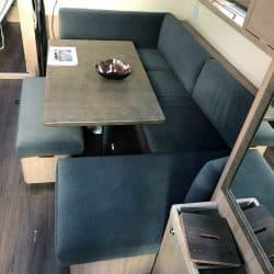 Beneteau Oceanis 45, Internal Saloon Reupholstery_5