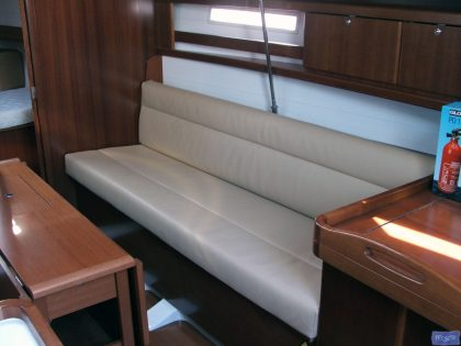 Dufour 325 Saloon Upholstery_1