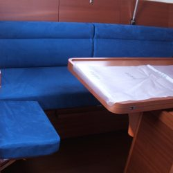Dufour 40E Saloon Upholstery_1