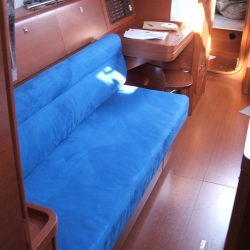 Dufour 40E Saloon Upholstery_2