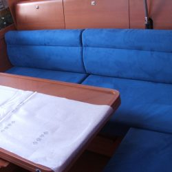 Dufour 40E Saloon Upholstery_3