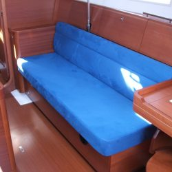 Dufour 40E Saloon Upholstery_4