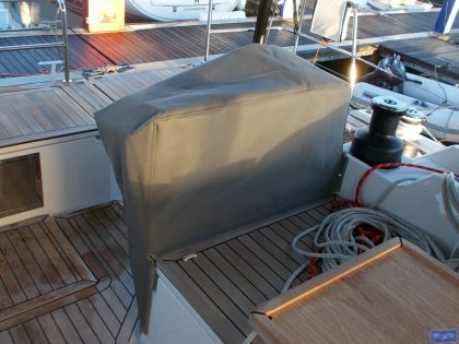 Bavaria Cruiser 57 wheel and pedastal covers_1