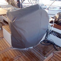 Bavaria Cruiser 57 wheel and pedastal covers_4