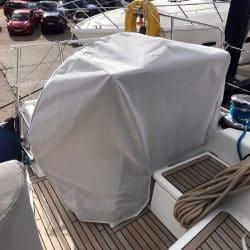 Beneteau Oceanis 58, Wheel and Pedastal Covers_2
