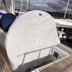 Beneteau Oceanis 58, Wheel and Pedastal Covers_3