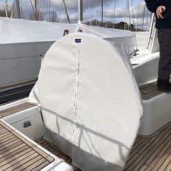 Beneteau Oceanis 58, Wheel and Pedastal Covers_4
