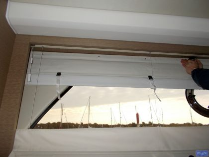 Prestige 500F, Roll Up Interior Black Out Blinds_1