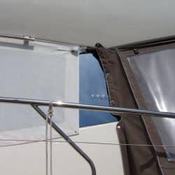 Jeanneau Prestige 500 Fly, Windscreen covers_3