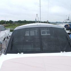 Sealine SC 47 Mesh Windscreen Covers in Black_1