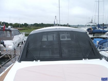 Sealine SC 47 Mesh Windscreen Covers in Black_1