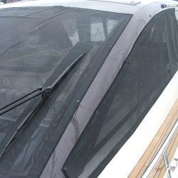 Sealine SC 47 Mesh Windscreen Covers in Black_3