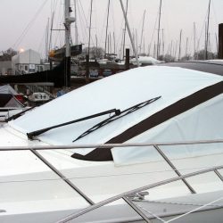 Sealine SC 47 Mesh Windscreen Covers in White_1