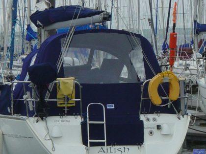 jeanneau sun odyssey 32 cockpit enclosure fitted to tecsew sprayhood 4