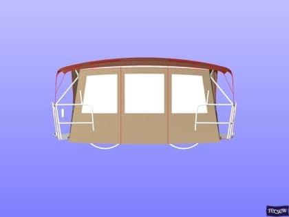 jeanneau sun odyssey 349 bimini conversion 7