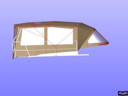 jeanneau sun odyssey 349 bimini conversion 9