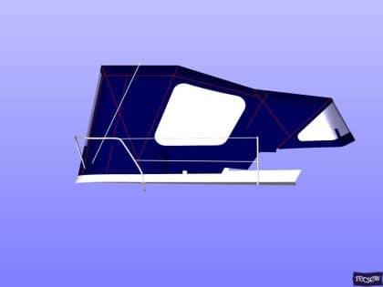jeanneau sun odyssey 362 cockpit enclosure 6