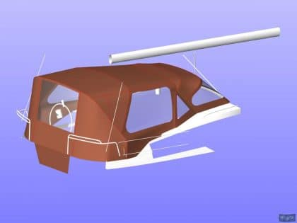 jeanneau sun odyssey 41ds cockpit enclosure 11