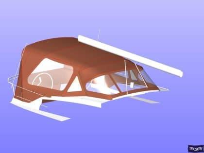 jeanneau sun odyssey 41ds cockpit enclosure 12
