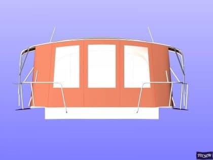 jeanneau sun odyssey 439 bimini conversion fitted to tecsew 9
