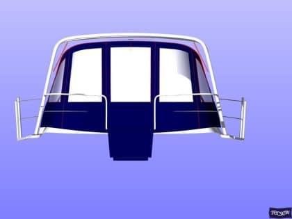 legend 36 cockpit enclosure with zip removable sides 6