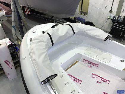 pascoe tenders 1608 tender sprayhood stowage valise bag 1