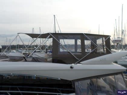 prestige 550 flybridge bimini recover 1