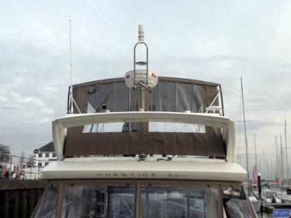 prestige 550 flybridge bimini recover 7