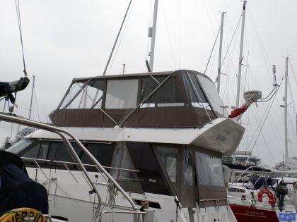sealine f46 tecsew flybridge bimini and bimini conversion ref 5373 5