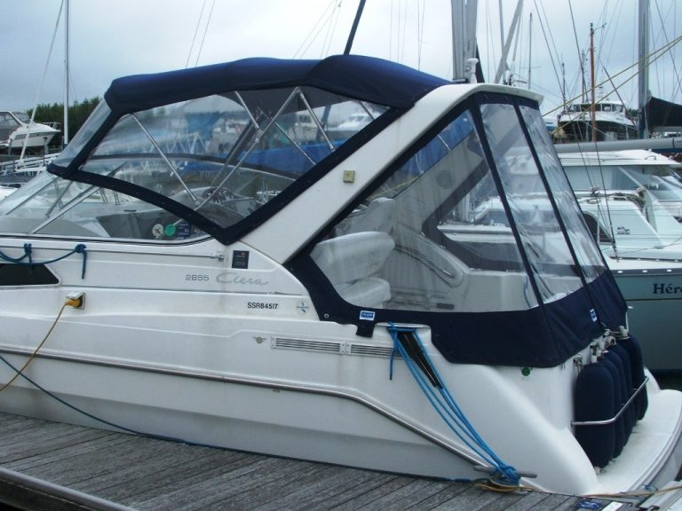 Bayliner Cierra 2855 Fore and Aft Canopies