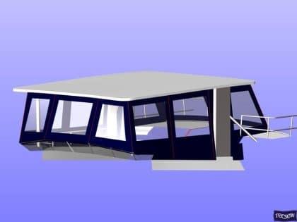 trader 535 signature flybridge enclosure ref 5194 jeanne rose 11