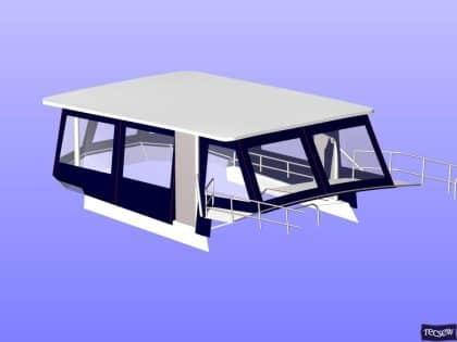 trader 535 signature flybridge enclosure ref 5194 jeanne rose 13