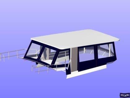 trader 535 signature flybridge enclosure ref 5194 jeanne rose 14