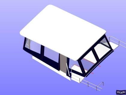 trader 535 signature flybridge enclosure ref 5194 jeanne rose 15