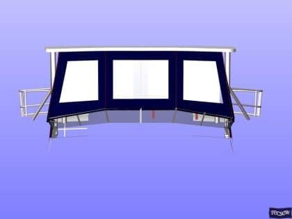 trader 535 signature flybridge enclosure ref 5194 jeanne rose 16