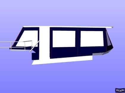 trader 535 signature flybridge enclosure ref 5194 jeanne rose 17