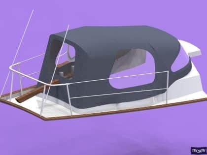 twister mk iia cockpit enclosure fitted to tecsew sprayhood ref 5967 23