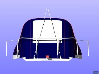 westerly griffon cockpit enclosure fitted to tecsew sprayhood 8