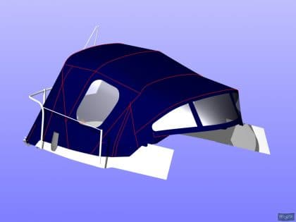 westerly griffon cockpit enclosure fitted to tecsew sprayhood 9