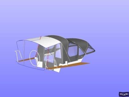 x43 cockpit enclosure to fit factory sprayhood 19