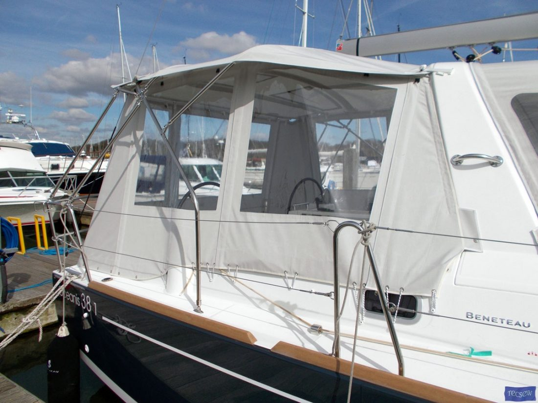 beneteau oceanis 38 and 381 bimini conversion 3