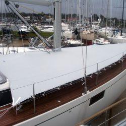 beneteau oceanis 48 foredeck deck cover 7