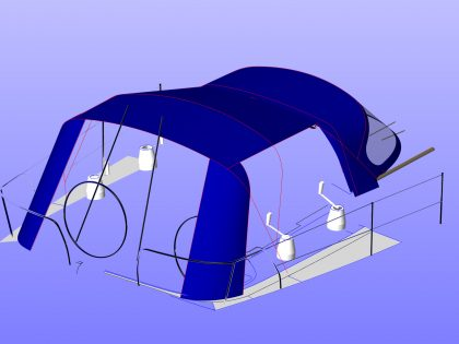 CE Aft Corner with Sides & Rear Rolled