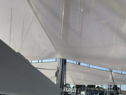 Beneteau Oceanis 46.1 with ARCH Sun Awnings interior