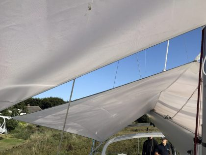 Beneteau Oceanis 46.1 with ARCH Sun Awnings interior 1