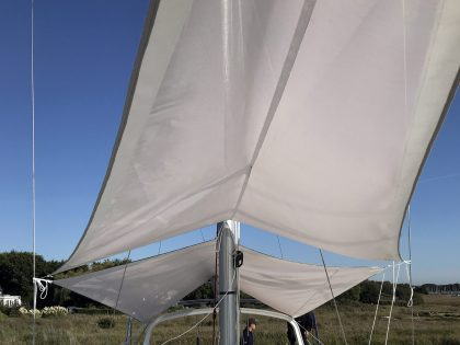 Beneteau Oceanis 46.1 with ARCH Sun Awnings interior 2